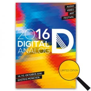 NEU: Plakat – Digitalanalog 2016 LIMITED EDITION